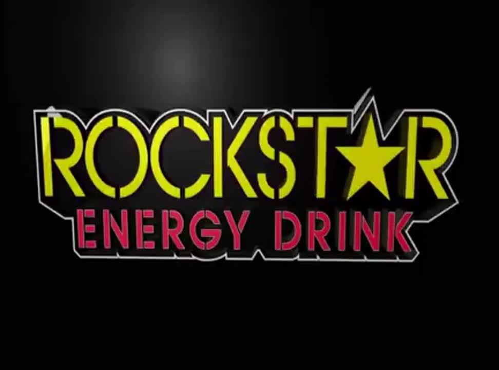 Rockstar Energy Drink reklamowany jako nowy wymiar energii