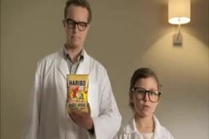 Dziecięca Strefa testu reklamuje Złote Misie Haribo