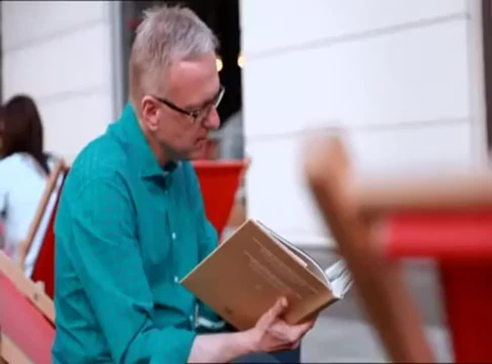 Mariusz Szczygieł - reklama TVP Kultura