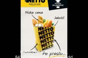 Sklepy Netto - reklama radiowa na 18. urodziny