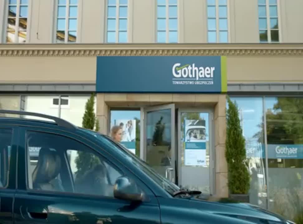 Gothaer - reklama ubezpieczeń komunikacyjnych