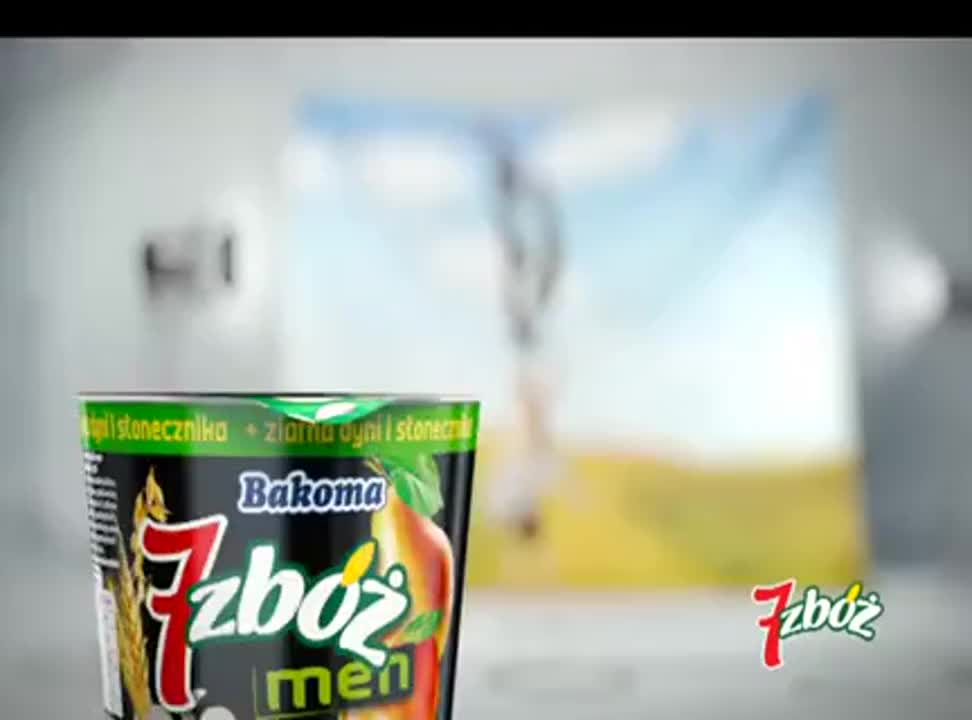 Kłosiaki sponsoringowo reklamują Bakomę 7 Zbóż - spot z Proso
