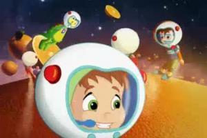 Owocowy kosmos reklamuje Danonki