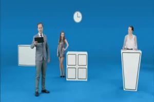 Tablet to PC - reklama Windows 8.1 z danymi