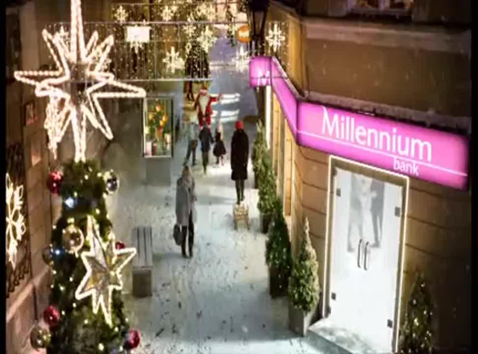 Świąteczna kampania Pożyczki Gotówkowej Banku Millennium