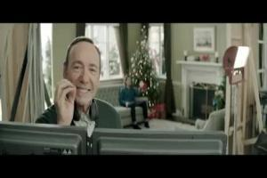 Kevin Spacey reżyseruje świąteczną reklamę BZ WBK