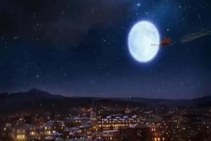 Serce i Rozum reklamują Neostradę w saniach Świętego Mikołaja