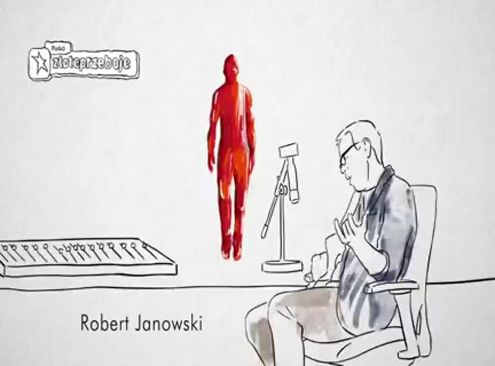Robert Janowski reklamuje Złote Przeboje