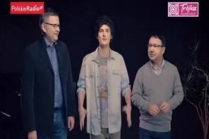 Andrus, Zamachowski i Podsiadło w reklamie Trójki śpiewają o zielonym domku