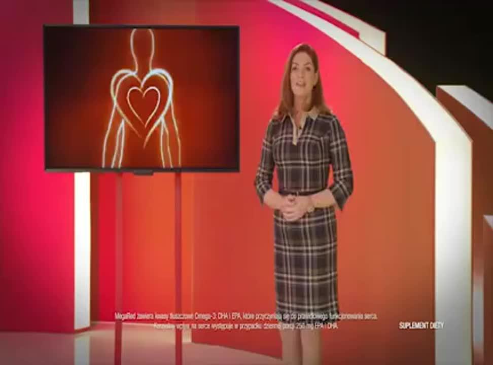 Katarzyna Dowbor reklamuje MegaRed