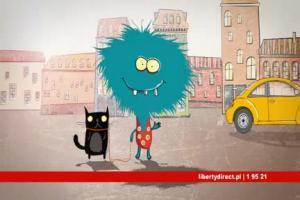Liberty Direct - reklama ubezpieczenia opon
