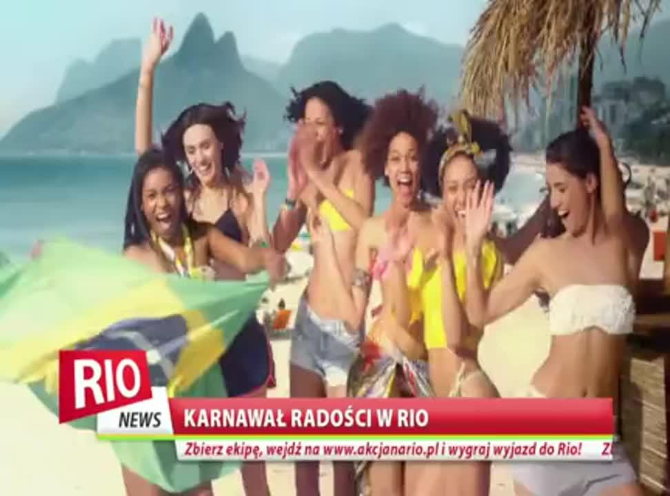 Pociesz Brazylijki - reklama piwa Warka