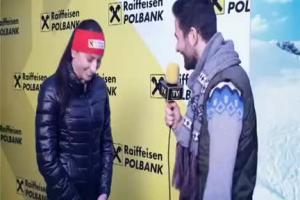Justyna Kowalczyk opowiada o złocie w reklamie Raiffeisen Polbanku