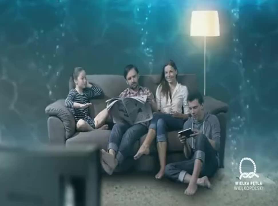 Z nurtem przygody - bez końca! - reklama Wielkiej Pętli Wielkopolski