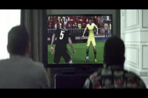 Zidane, Beckham, Bale i Moura w domowym meczu reklamują Adidasa