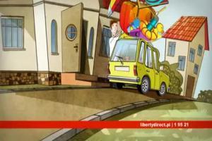 Złośliwość Losu reklamuje ubezpieczenie mieszkań i domów w Liberty Direct