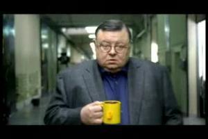 Wojciech Mann w kampanii Lipton