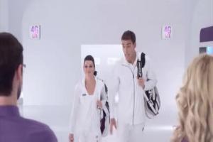 Formuła 4G LTE Unlimited w Play - reklama z Radwańską i Janowiczem