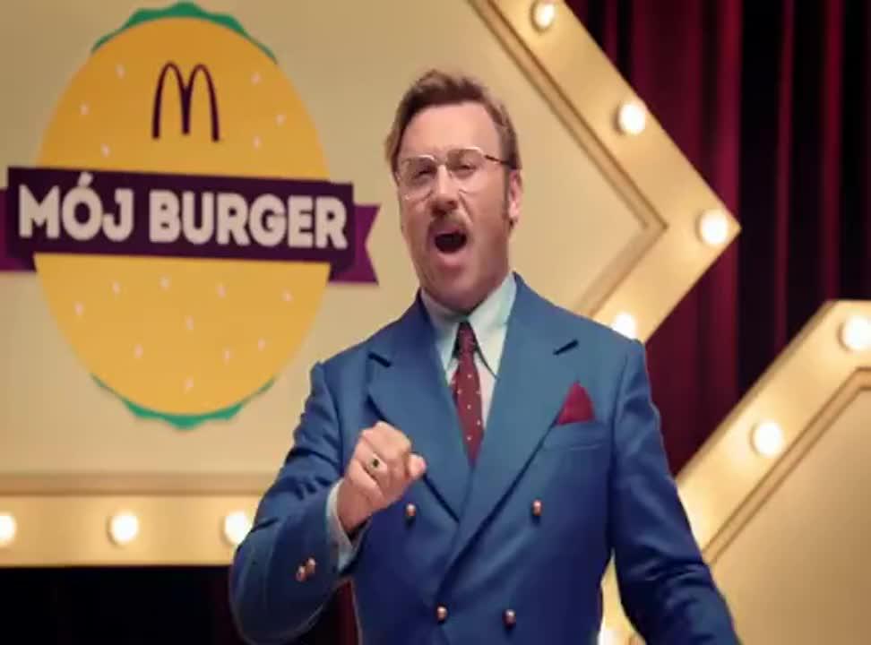 """""""Mój burger"""" w McDonald's - reklama z Michałem Milowiczem"""
