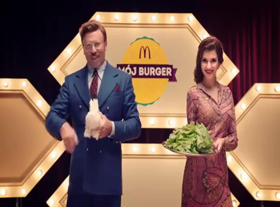 "McDonald's z Michałem Milowiczem reklamuje konkurs ""Mój burger"""