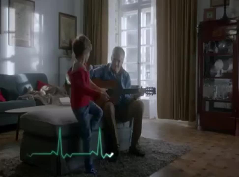 Polocard - reklama z zapobieganiem zawałowi i strachem przed śmiercią