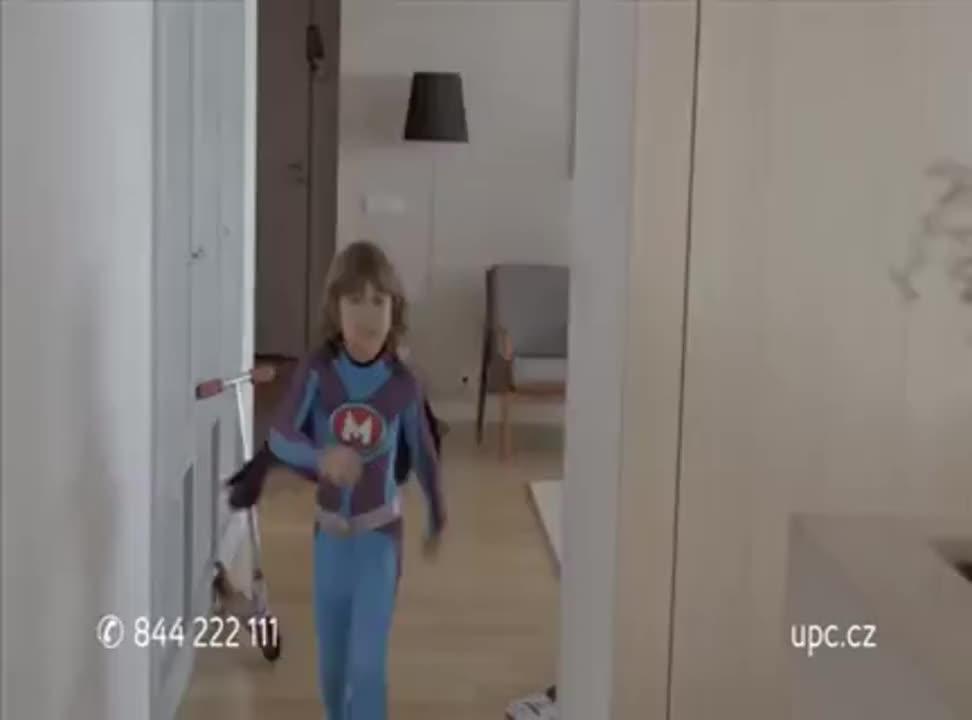 Mega Rodzinka promuje UPC w Czechach