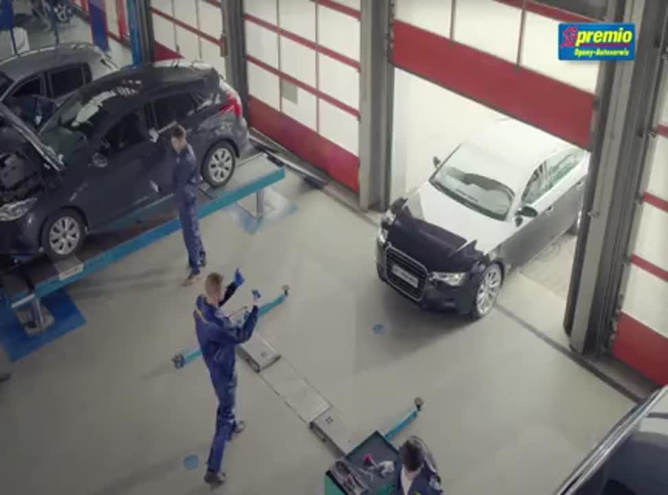 Jerzy Dudek reklamuje punkty Premio i opony Goodyear