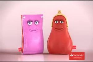 Śpiewające portfele reklamują kredyt gotówkowy w Santander Consumer Banku