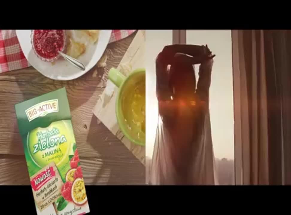 Telewizyjna reklama herbaty Big-Active