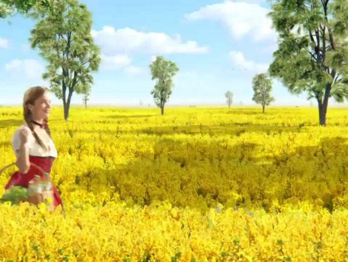 """Olej Kujawski na ludowo reklamowany jako """"naturalne źródło Omega-3"""""""