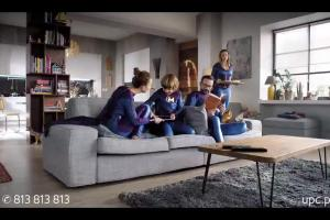 Ewa Kasprzyk w reklamie usługi MyPrime od UPC
