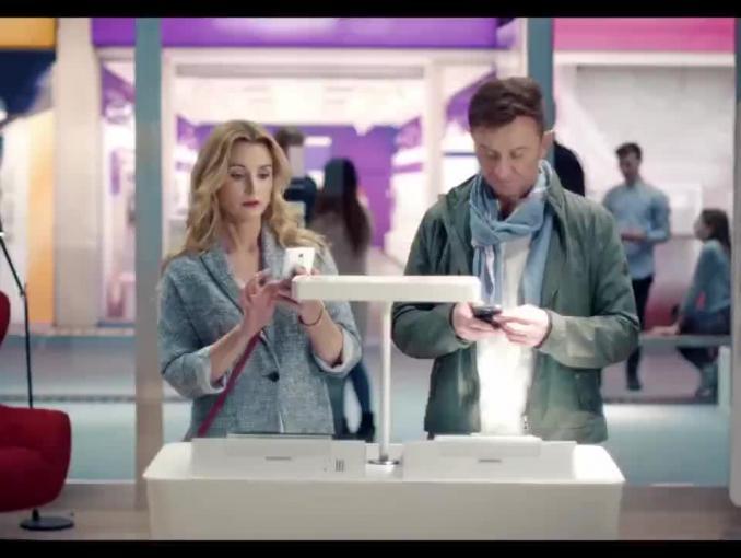 Przejście do Plusa z Brodzik i Wilczakiem w reklamach SmartDomu