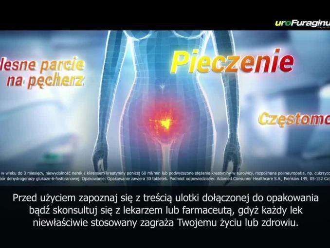 Urofuraginum reklamowany przez kobiety jako najlepszy na zakażenie dolnych dróg moczowych