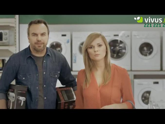 Grecki bóg okazji reklamuje Vivus.pl