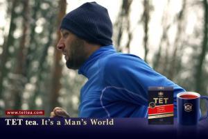 W świecie mężczyzn wszystko dla niej - spot reklamujący herbatę TET