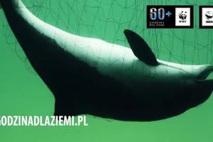 """Marcin Dorociński w kampanii """"Godzina dla Ziemi"""" WWF"""