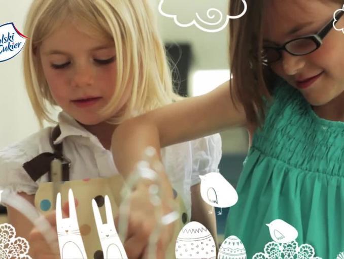 Słodziaki przedstawiają - wielkanocna reklama Polskiego Cukru