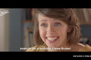 Europejskie desery E.Wedel reklamowane obcojęzycznie