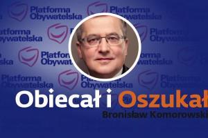 Bronisław Komorowski obiecał i oszukał - spot Andrzeja Dudy