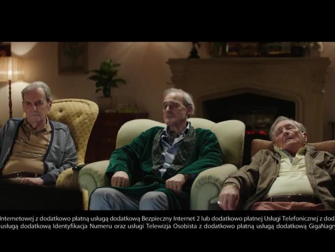 Pół roku Telewizji osobistej za złotówkę - reklama Netii ze staruszkami