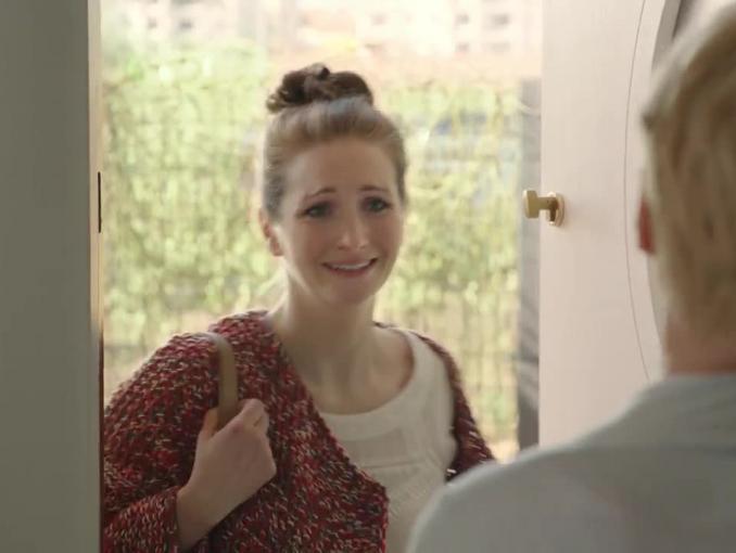 Małgorzata Kożuchowska jako opiekunka reklamuje Pakiet Rodzinny w Orange