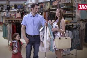 Nie trzeba majątku by wyglądać w porządku - reklama TXM textilmarket