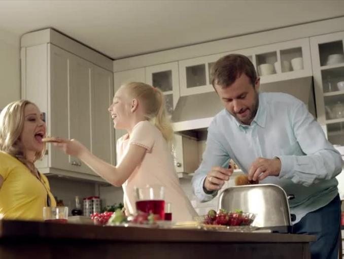 """Margaryna Śniadaniowa reklamowana """"także na drugie śniadanie"""""""