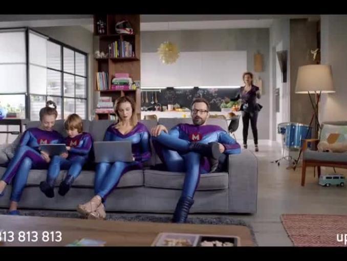 MegaRodzinka promuje Horizon w nowej kampanii UPC (wideo)