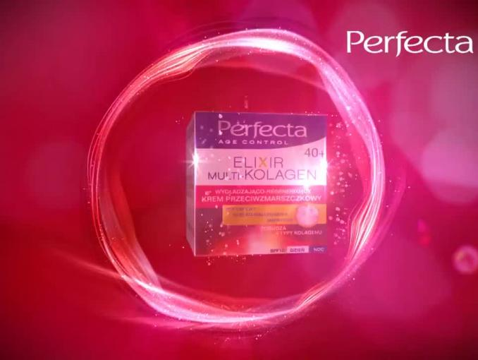 Magdalena Różczka reklamuje kosmetyki Perfecta