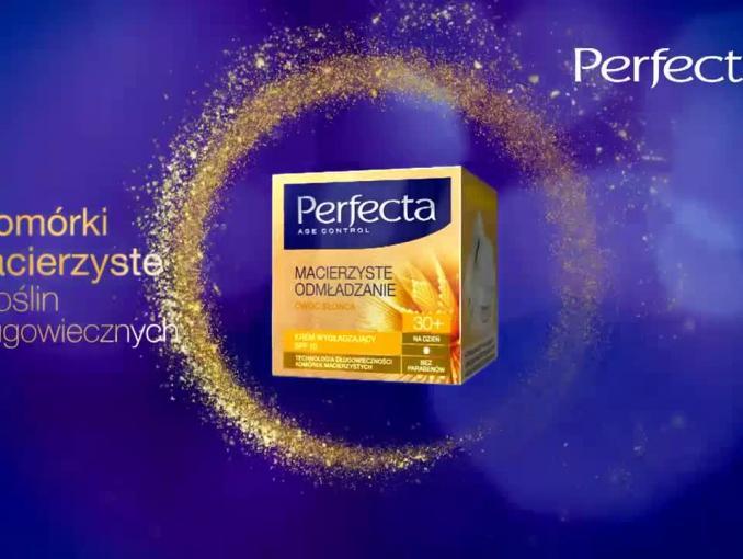 Krem Perfecta Macierzyste Odmładzanie - reklama z Magdaleną Różczką