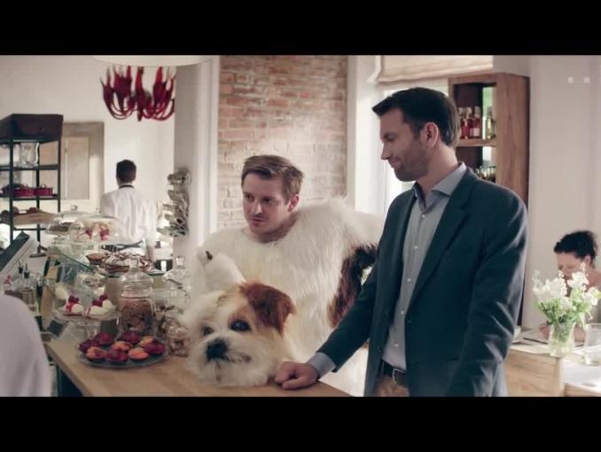 """Pomysł """"psa"""" na firmę bez Tomasza Kota w reklamie Jump proFirma w T-Mobile"""
