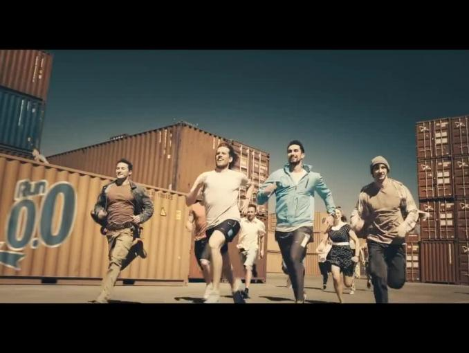 Warka Radler w reklamie zaprasza na bieg Run Zero