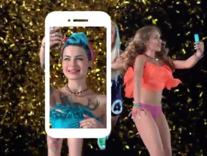 Dandris w reklamie aplikacji 4fun App