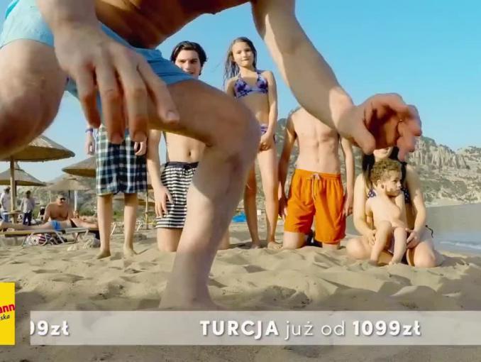 """Neckermann reklamuje """"wakacje pełne słońca i beztroski"""""""